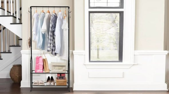 8 Best Clothes Racks For Organizing Garments