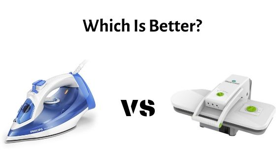 Steam Press Vs Conventional Iron – Which One Should You Buy?